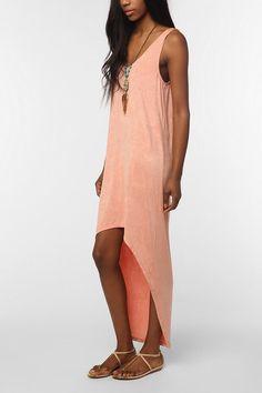 UrbanOutfitters.com > byCORPUS Textured Knit Midi Tank Dress