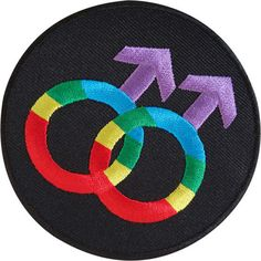 Gay Pride Rainbow Embroidered Iron Sew On Patch Male Sex Mars Symbol Sign Badge  Size  8 cm Width and 7.1 cm Height.  How to Iron on a Patch  1. Lay your cloth on a flat, heat-resistant surface like an ironing board. To ensure the item will provide a good surface for the patch, iron it first. If its a backpack or another item thats difficult to iron, do your best to arrange it so that the part of the fabric that will be receiving the patch is flat against a hard surface.  2. Place the patch…