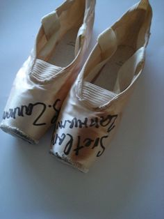 Svetlana Zakharova pointes. Would LOVE to have these!!
