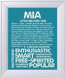 Mia my granddaughters name  | Babies Name meaning | Names