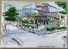 myVillage, Serangoon Garden, Singapore.  UskSg June 2016 sketchwalk. | por Hafizal_Nordin