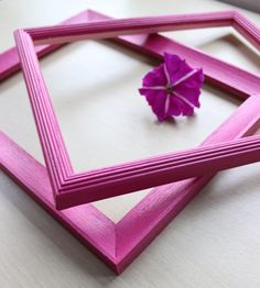 Radiant Orchid Wall Frame Add to Your Open Frame Gallery Collection on Etsy, $15.00
