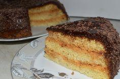 Бисквитный торт со сгущенкой в мультиварке