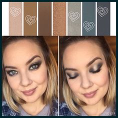 LOVE this halo look using Palette 4!! Her eyes look amazing!!