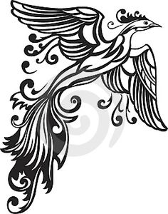 I want a Phoenix tattoo but I haven't found a design I like yet. Maybe I'll have to create that as well