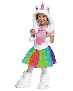 Toddler Vivid Unicorn Costume - Spirithalloween.com