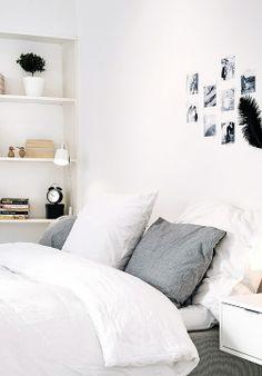 Via NordicDays.nl | White Alvhem Home | Black and White ❥