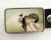 love this sellers hand made belt buckles on Etsy