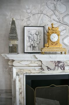 Mantle in Alex Papachristidis Kips Bay Show house