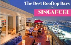 Looking for things to do in Singapore at night? How about an evening in a Singapore rooftop bar? Here is a round-up of the best rooftop bars in Singapore. Singapore Guide, Singapore Sling, Singapore Food, Singapore Travel, Best Places In Singapore, Singapore Malaysia, Thailand Travel, Rooftop Bar Bangkok, Best Rooftop Bars