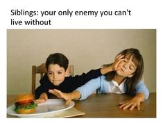 20 Sibling Memes You'll Find Extremely Hilarious And Heartwarming Stupid Funny Memes, Funny Relatable Memes, Funny Texts, Hilarious, Funny Stuff, Random Stuff, Sibling Memes, Sibling Rivalry, Image Meme