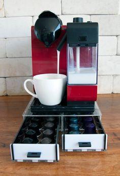 e of a kind in stylish design the Ritual Swirl Capsule Dispenser