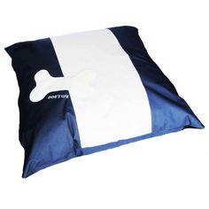 Dog's Life & Bone Square Dog Bed Blue