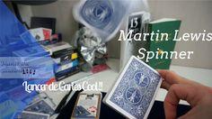 Lancer de Cartes Cool !! - Martin Lewis Spinner