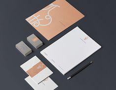 """La Fenice Onlus"" brand identity"" by Marianna Milione"