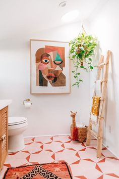boho Bathroom Decor Inside a Bathroom Makeover With Bright Green Tiles Diy Bathroom Decor, Bathroom Interior, Bathroom Remodeling, Bathroom Ideas, Remodel Bathroom, Bathroom Inspo, Bath Decor, Modern Boho Bathroom, Colorful Bathroom