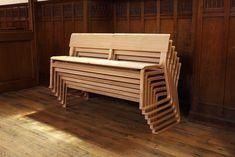 Church Bench le banc d'église revisité par Olga Szymanska