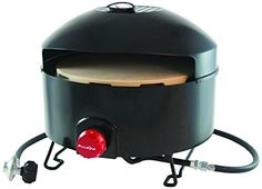 Cook your own pizzas at home or on the go in only minutes. Your #PizzaQue Outdoor Pizza Oven is lightweight, portable and safe on any surface. It's incredibly e...