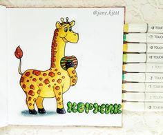 А вот первый вариант коржика)  #art #creative #instaart #artist #illustration #leuchtturm1917 #copic #touchmarker #copicart #liner #markers #hatchsketch #draw #sweet #arttoorder #cake #рисуюназаказ #donut #коржик #жирафик #drawing #sketch #sketchbook #giraffe #artwork #иллюстрация #маркеры #скетчбук  #рисунок #рисую