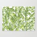 Banana Leaf Art Print by The Paper Apartment   Society6