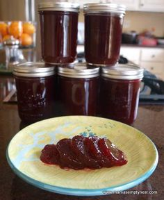 Homemade Spiced Cranberry Sauce Canning Recipe » The Homestead Survival