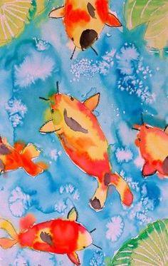 koi fish by pamela