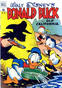 Donald Duck - Old California cover by Carl Barks
