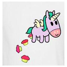 Unicorn Pooping Cupcakes ^_^