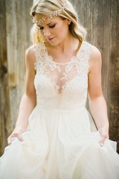 Danielle wedding gown by Leanne Marshall