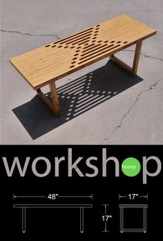 Handmade Birch Plywood Coffee Table / Bench от WorkshopHoney