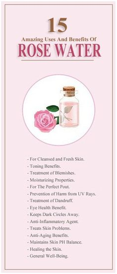 15 Amazing Uses And Benefits Of Rose Water