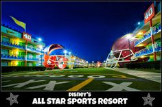Disney's All-Star Sports Resort - room rates, photos, map, overview