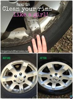 How to Clean Car Rim Hubcap-20 Car Cleaning Detailing Tips and Tricks