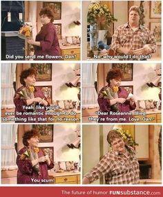 Aw, I love Roseanne