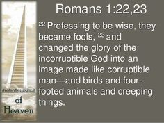 Romans 1:22 - Google Search