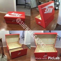 8 meilleures idées sur diy shoes box nike | boite a chaussure ...