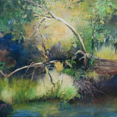 Painter's Process - Randall David Tipton: Metolius - Oneanta - Multnomah !  oil on canvas 20x20