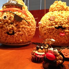 We handcrafted up these special #GarrettPopcorn Balls for our #GarrettHalloween festivities at the office today!  What are you doing to celebrate All Hallows' Eve?