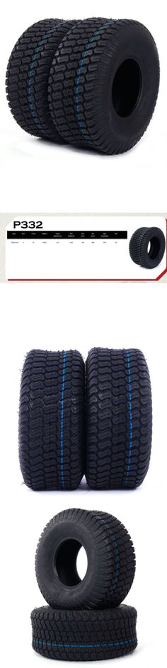 Parts and Accessories 82248: Pair:2 Tires Tubeless 15X6.00-6 Turf Tires 4 Ply Lawn Mower Tractor New -> BUY IT NOW ONLY: $42.49 on eBay!