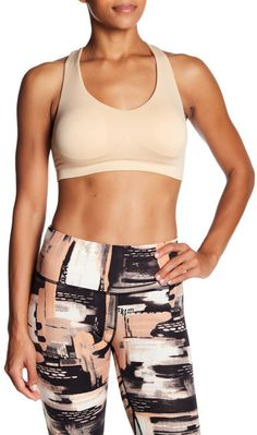 2d8934cf1bb3b Badgley Mischka Strapped Back Sports Bra Galleries