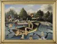 Fishing for mermaids von Ralph Eugene Cahoon Jr.