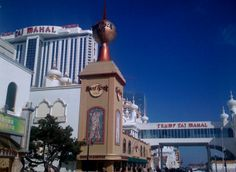 Atlantic City, New Jersey - Boardwalk View