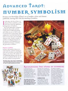 Advanced Tarot Number symbolism