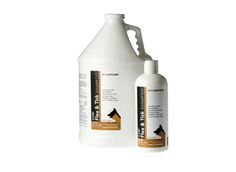 Animal Pharmaceuticals' parasite control 16 oz shampoo does it all – it kills fleas, ticks and lice while also ensuring a deep cleansing, deodorizing, and keeping the animal's skin and coat from drying out.  Indicated: Helps keep pet clean and fights against flea and tick infestation. Features and benefits:  Smells like cucumber melon! A soap-free cleansing and deodorizing