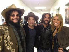Jakob Dylan ‏@Jakob Walther 3 Oct  Myself, @Ramijaffee , Don Was, and @Grace Potter tonight at Love For Levon