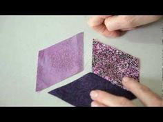 Sew a Perfect Y seam with Jinny Beyer