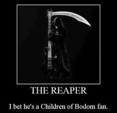 Children of Bodom Funny Shit, Funny Memes, Alexi Laiho, Children Of Bodom, Rings Of Saturn, Bullet For My Valentine, Peter Steele, Type O Negative, Motionless In White