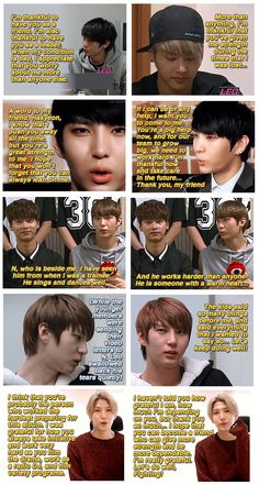 Too sweet. From one bias to another. (VIXX Leo||Jung Taekwoon about VIXX N||Cha Hakyeon)