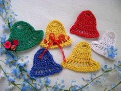 Sinos de Natal em croche - parte 1. Este video faz parte do blog http://edinir-croche.blogspot.com