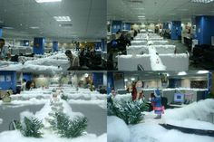 Unique Winter Wonderland Office Decorating Ideas Christmas Decoration Ideas